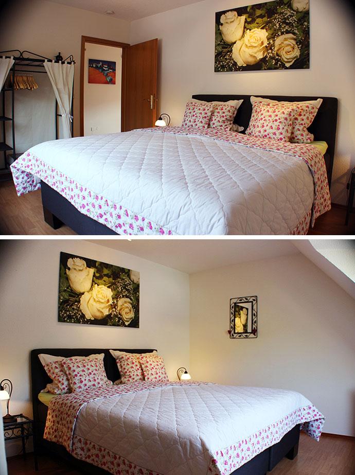 Ferienwohnung 3 - Das Schlafzimmer 2
